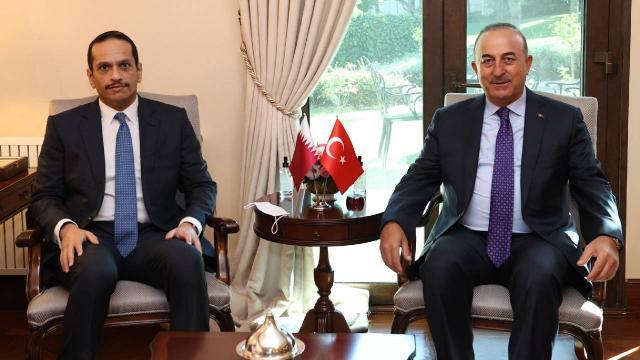 Bakan Çavuşoğlu, Katarlı mevkidaşıyla Afganistanı görüştü