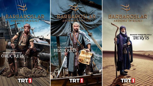 """""""Barbaroslar Akdeniz'in Kılıcı"""" dizisinin merak edilen karakterleri açıklandı"""