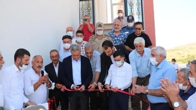 Baskilde Hacı Murat Yümlü Camiinin açılışı yapıldı
