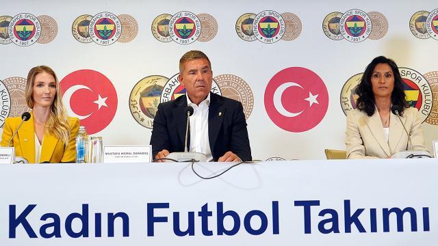 Fenerbahçede kadın futbol takımı kuruldu