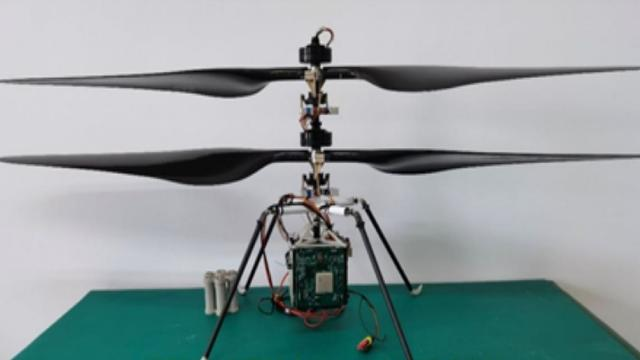 Çin gelecekte kullanacağı prototip Mars helikopterini tanıttı