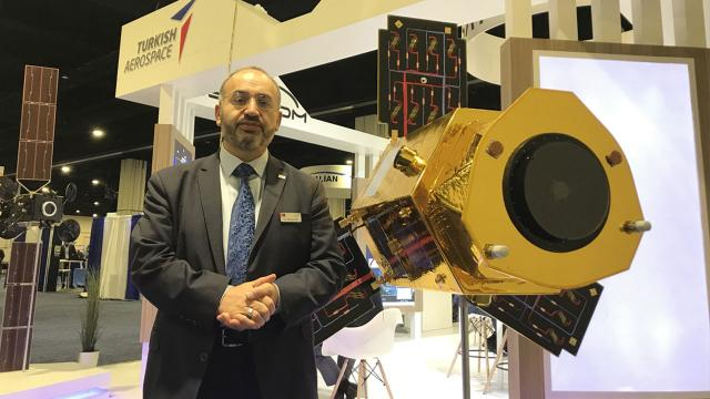 TSKnın yeni uydusu için başlangıç toplantısı yapıldı