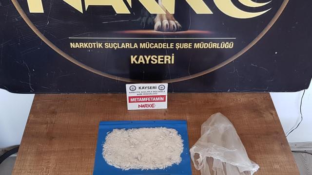 Kayseride uyuşturucu operasyonu