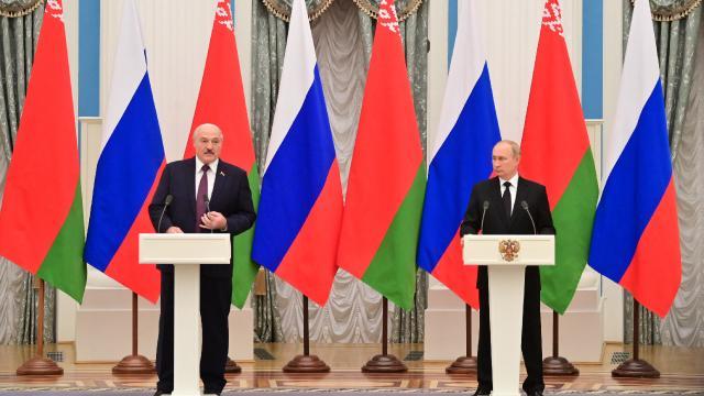 """Rusya ve Belarus """"Birlik Devleti programı"""" üzerinde anlaştı"""