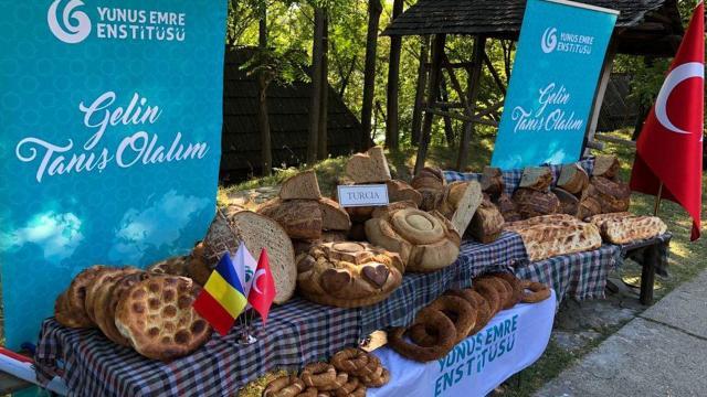 Romanyada Türk ekmekleri çok beğenildi