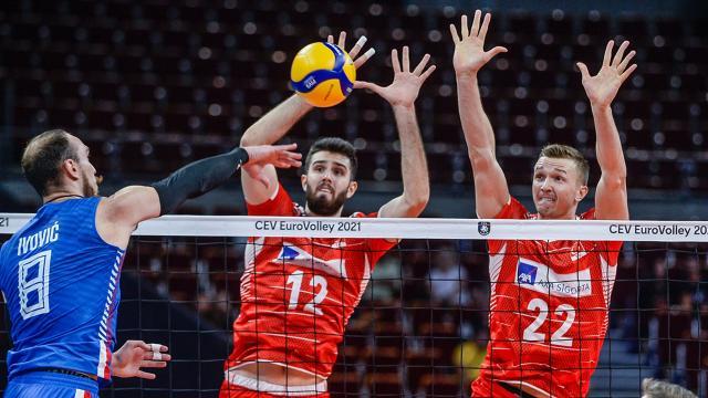 A Milli Erkek Voleybol Takımı Avrupa Şampiyonasına veda etti