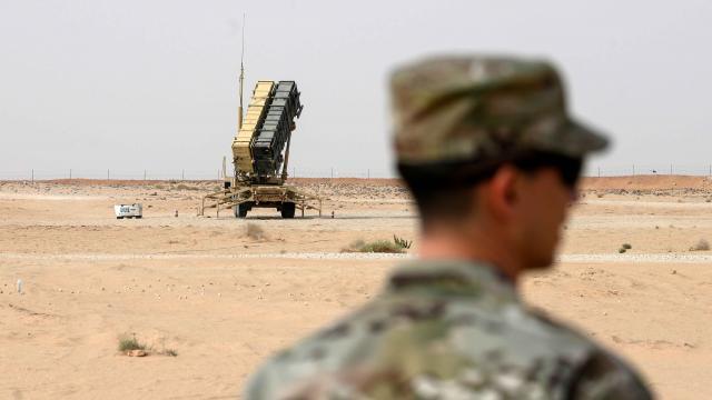 ABD Suudi Arabistandaki savunma sistemlerini çekti
