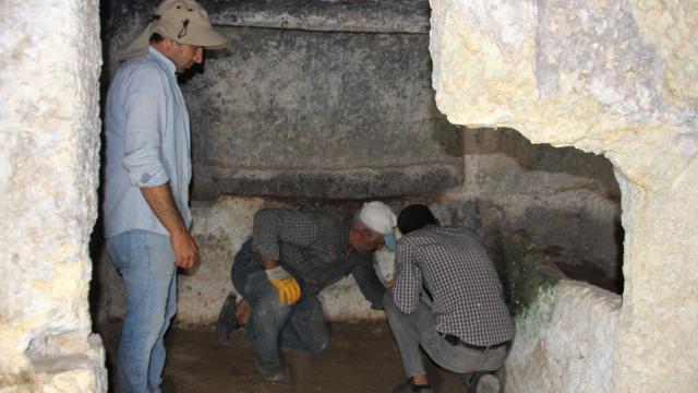Turuş Kaya Mezarları turizme kazandırılıyor
