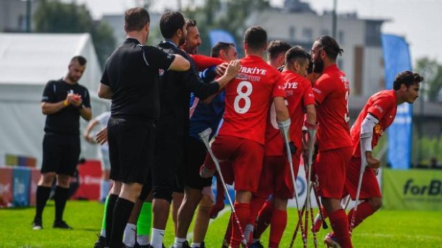 Ampute Millilerden Gürcistana 10 gol
