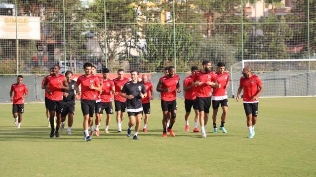 Alanyasporda Galatasaray maçı hazırlıkları başladı