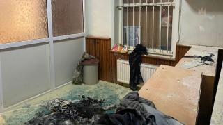 İstanbul'da cami yakma girişimi