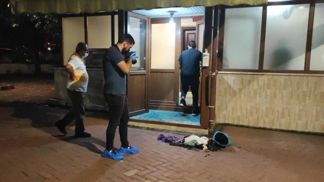 Faik Paşa Camiinde çıkarılan yangına soruşturma