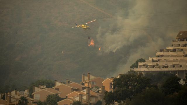 İspanyadaki yangınlarda 6 bin hektardan fazla alan kül oldu