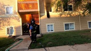 ABD'de yangın: İtfaiyeci 1'i çocuk 4 kişiyi kurtardı