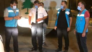 Karantina süresi bitmeden yolculuk yapan kişi ile otobüs firmasına toplam 8 bin 100 lira ceza kesildi