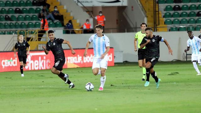 Manisanın 39 maçlık yenilmezlik serisini BB Erzurumspor bozdu