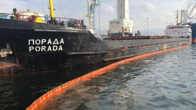 İzmit Körfezini kirleten gemiye 1,2 milyon ceza uygulandı