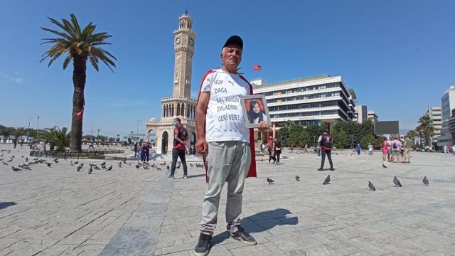 Evlat nöbetini Ankaraya taşıyor
