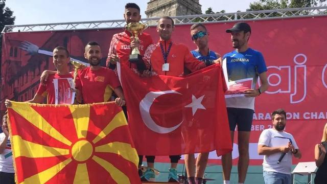 Türkiye Balkan Yarı Maratonunda şampiyon oldu