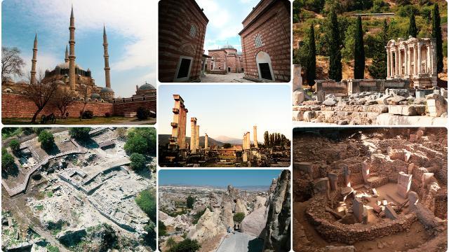 UNESCO Dünya Mirası Listesinde Türkiye