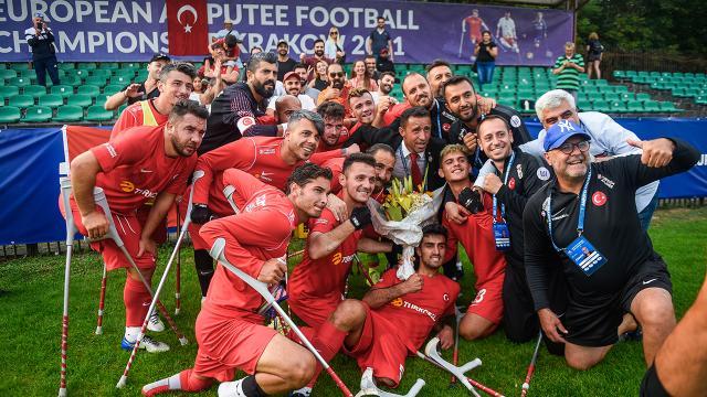 Ampute Milli Takımı 11 golle çeyrek finalde