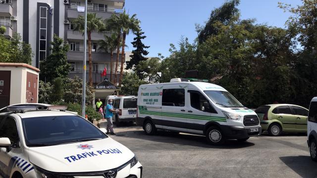 Alanyada elektrik akımına kapılan otel çalışanı öldü