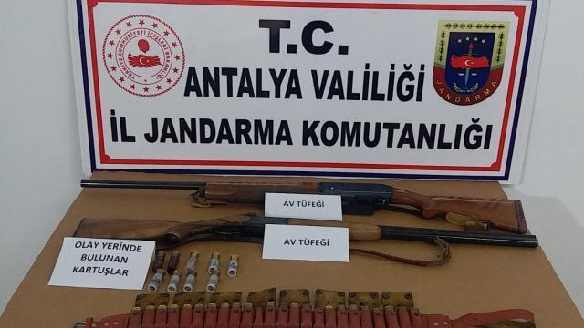 Antalyada cinayet şüphelisi yayla evinde yakalandı