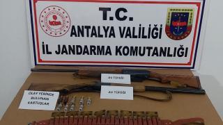 Antalya'da cinayet şüphelisi yayla evinde yakalandı