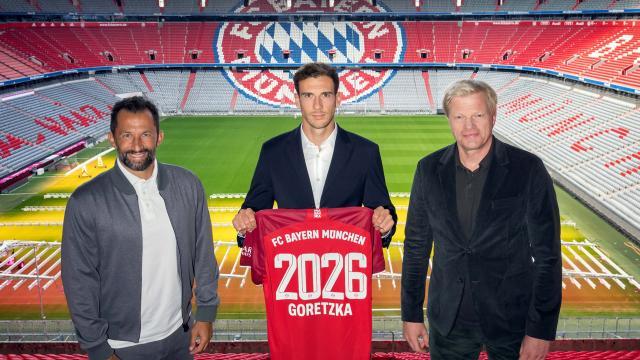 Bayern Münih Leon Goretzkanın sözleşmesini uzattı
