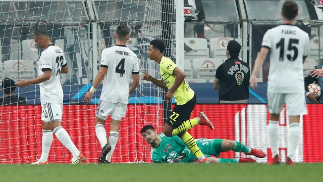 Beşiktaş Borussia Dortmunda yenildi