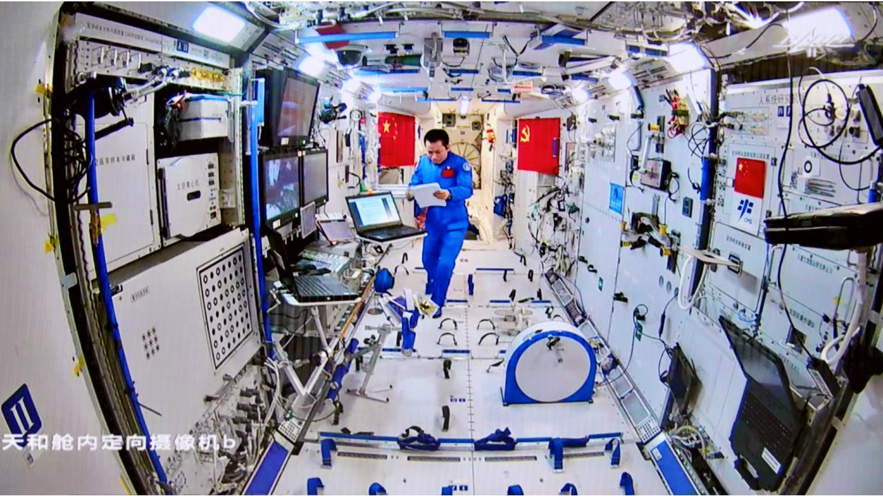 Çinli astronotlar 90 gün sonra uzay istasyonunundan ayrıldı - Son Dakika  Haberleri