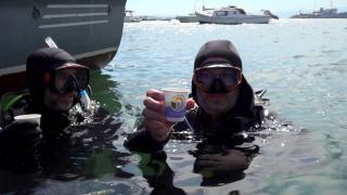 Tuzla Sahili müsilajdan arındırıldı, dalgıçlar çay keyfi yaptı