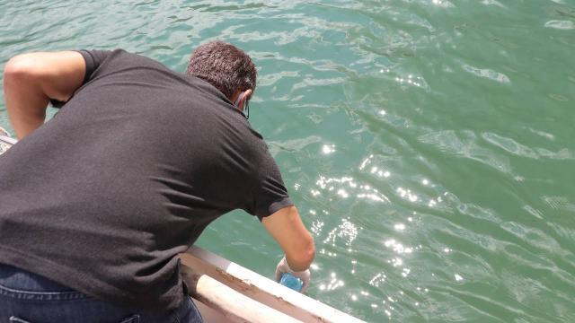 Eğirdir Gölünden alınan numune temiz çıktı
