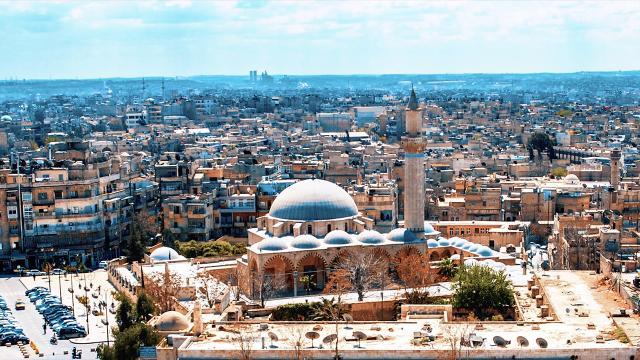 Halepteki 4 asırlık Osmanlı tarihi gün yüzüne çıkıyor