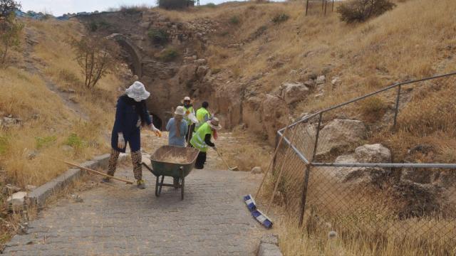Mardin Kalesinde 2021 yılı kazı çalışmaları tamamlandı