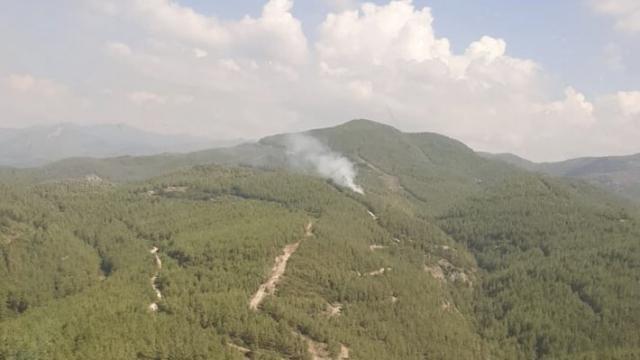 Osmaniyede çıkan orman yangını kontrol altına alındı