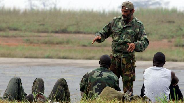 Afrikada paralı askerlerin etki alanı genişliyor