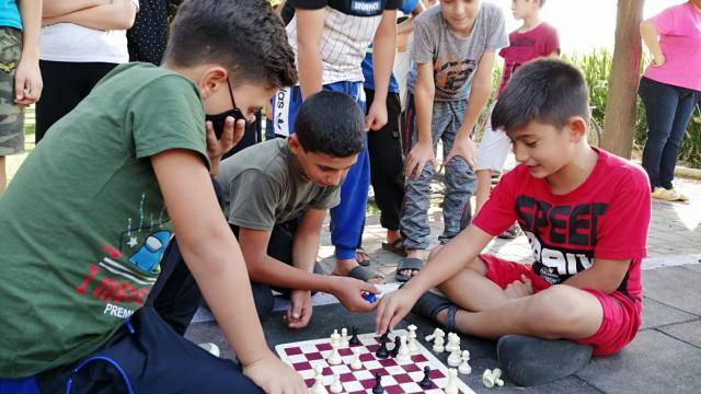 Manisada Sokakta Satranç Var etkinliği düzenlendi