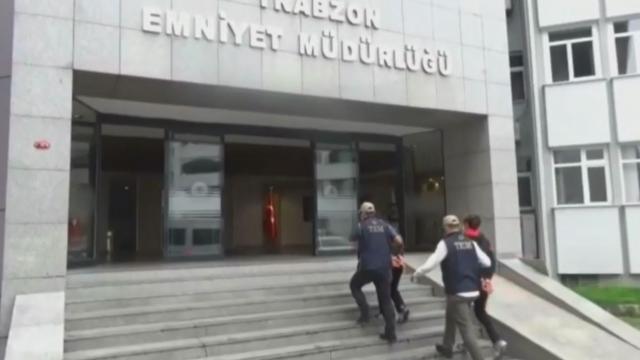 Trabzonda DEAŞ operasyonu: 2 gözaltı