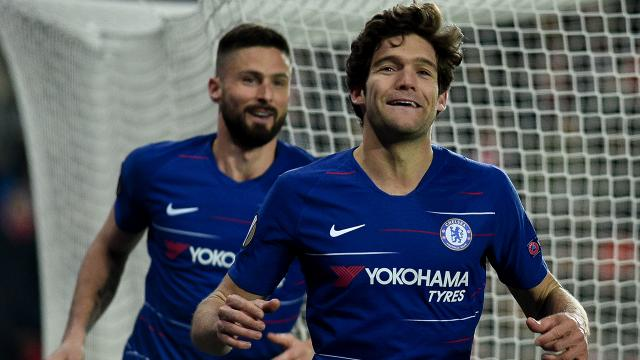 Chelseali futbolcu Marcos Alonso diz çökme eylemine katılmayacak