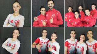 Milli cimnastikçiler İtalya'da üç final hakkı daha kazandı