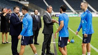 Fenerbahçe Başkanı Ali Koç takımı teselli etti