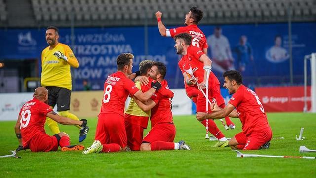 Ampute Futbol Milli Takımı şampiyonluk için sahaya çıkıyor