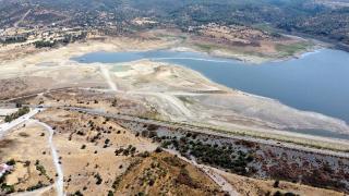 Mumcular Barajı'nın doluluk oranı yüzde 10'un altında