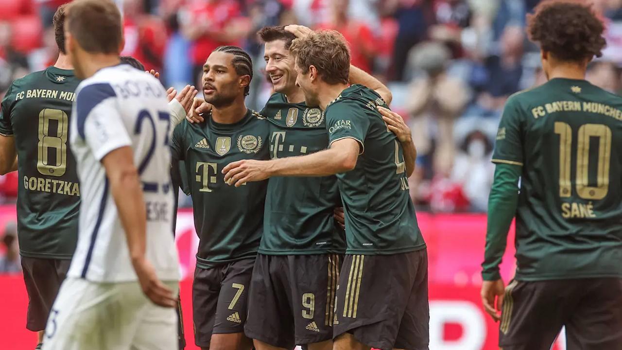 Bayern Münih Bochum'u farklı yendi - Son Dakika Haberleri
