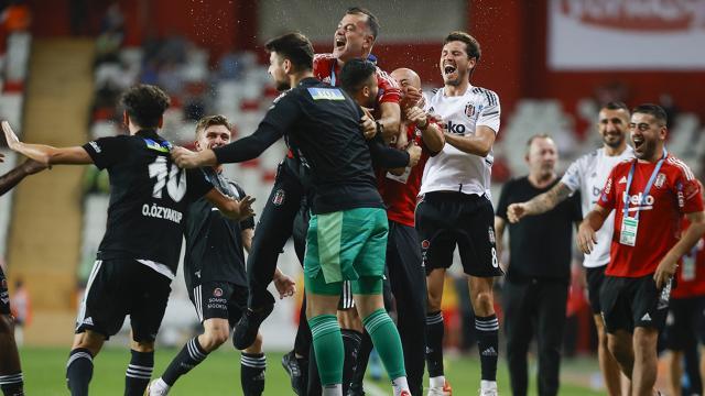Beşiktaştan muhteşem geri dönüş