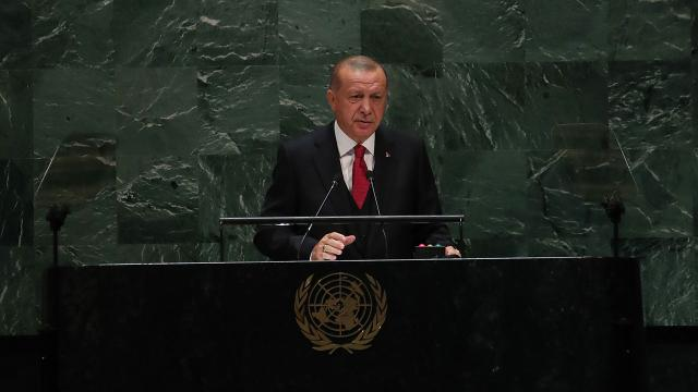 Cumhurbaşkanı Erdoğan BM Genel Kuruluna katılmak üzere ABDye gidiyor