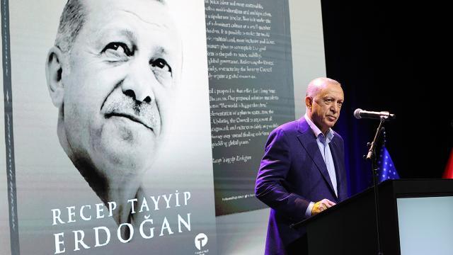 Cumhurbaşkanı Erdoğanın kitabının ABD lansmanı New Yorkta yapıldı