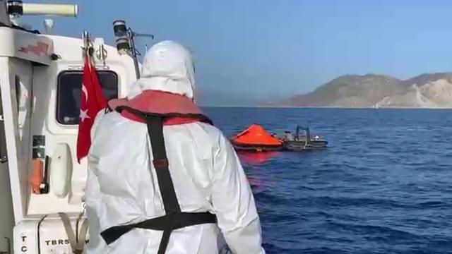 Marmaris ve Datçada 132 göçmen kurtarıldı