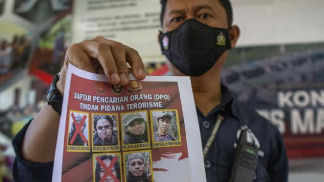 Endonezyada terör örgütü elebaşı öldürüldü